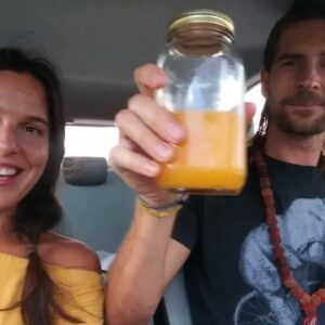 First week of Detox with Dr. Robert Morse's Detox Herbs and Raw Food Diet